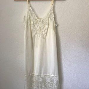 Vintage Vivien Lace Slip dress